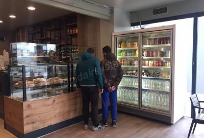 Προμήθεια και εγκατάσταση μεταχειρισμένων ψυγείων self service τύπου σούπερ μάρκετ