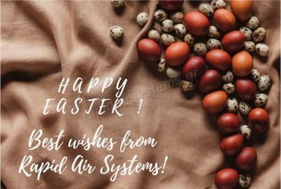 Η Rapid Air Systems σας εύχεται Καλό Πάσχα και Καλή Ανάσταση ! ! !