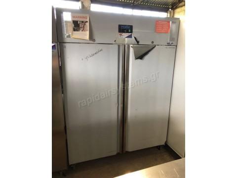 Επαγγελματικό ψυγείο θάλαμος κατάψυξη διπλό όρθιο POLAR U635